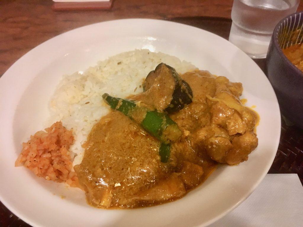 パンチマハル  カレーを食べよう!