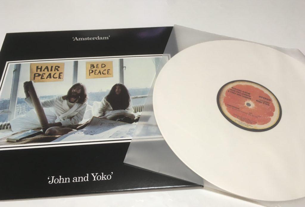 LP盤は限定ホワイト・カラー・レコード