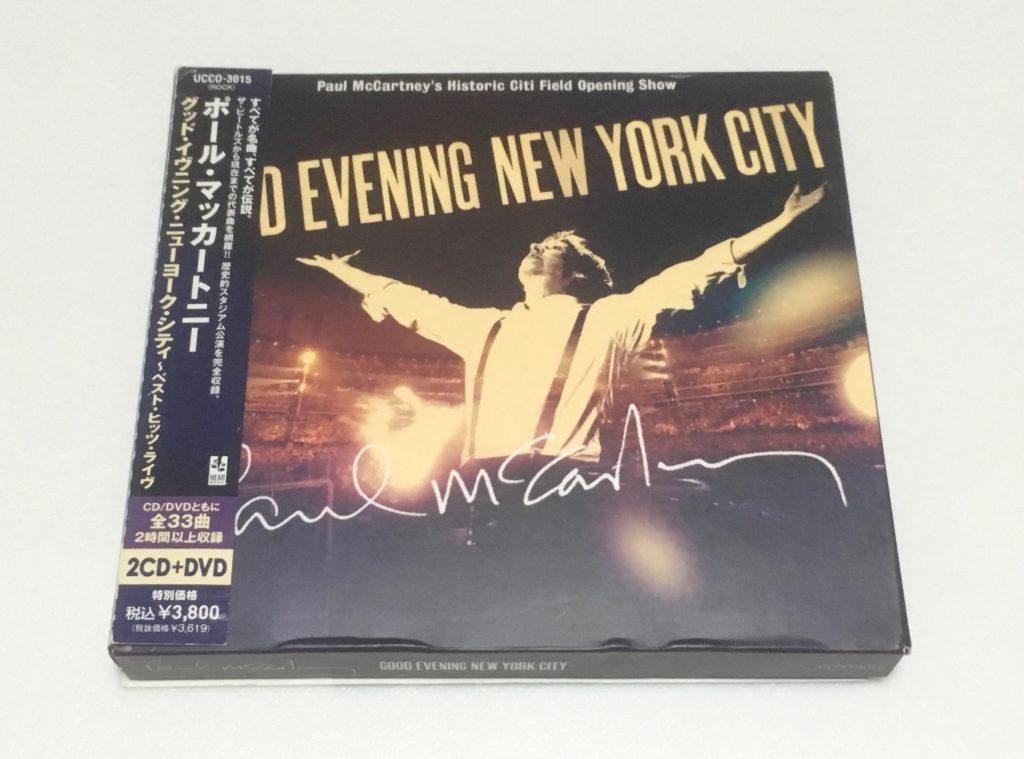 グッド・イブニング・ニューヨーク・シティ CD DVD