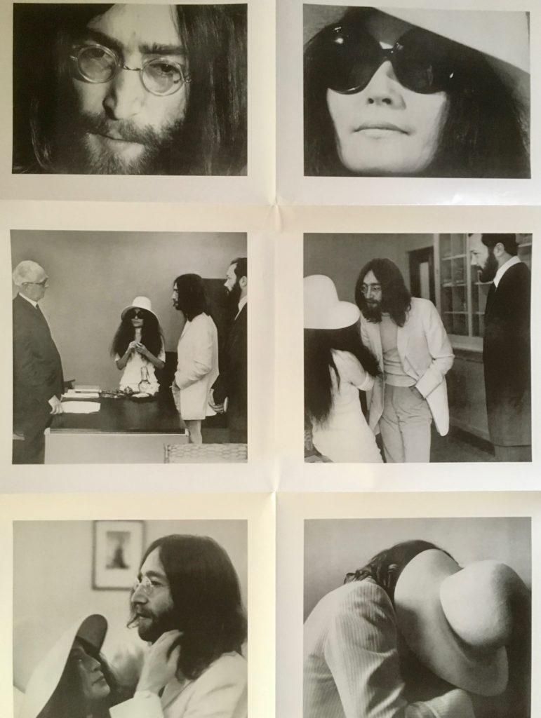 ウエディング・アルバム 50周年記念盤 ジョン&ヨーコ 見開きポスター