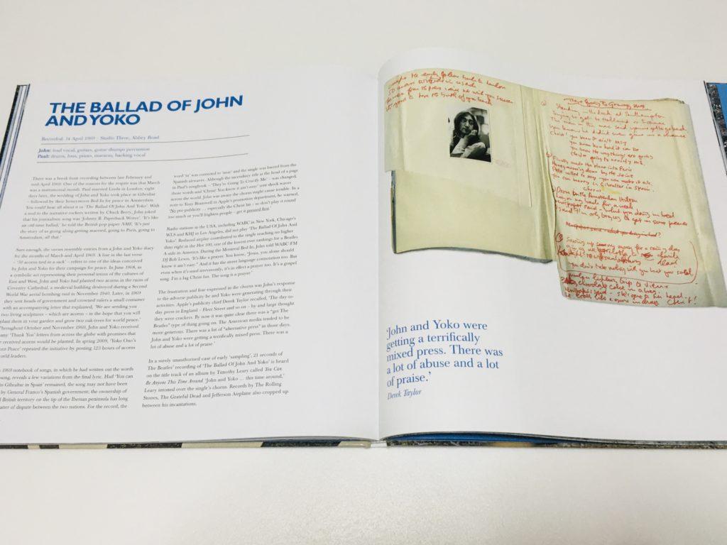アビイ・ロード50周年記念エディション  ハードカバーブックレット