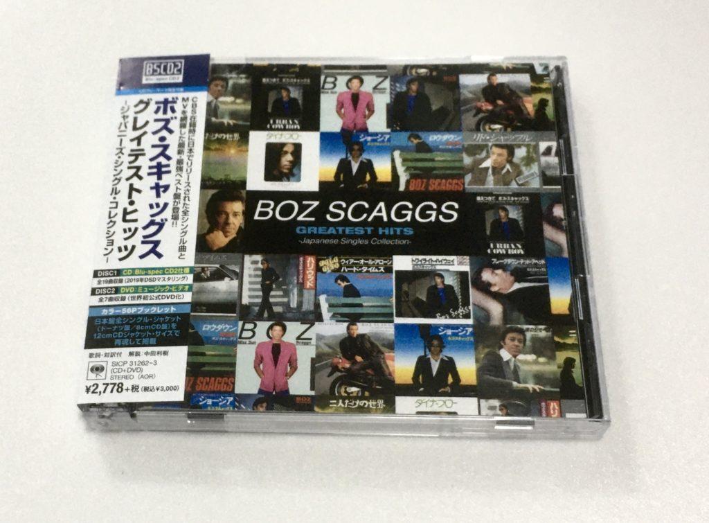 ボズ・スキャッグス グレイテスト・ヒッツ日本編集盤