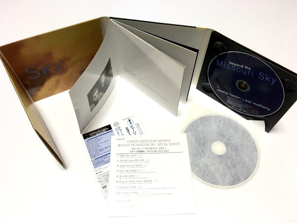 チャーリー・ヘイデン&パット・メセニーミズーリの空高く DVD付き