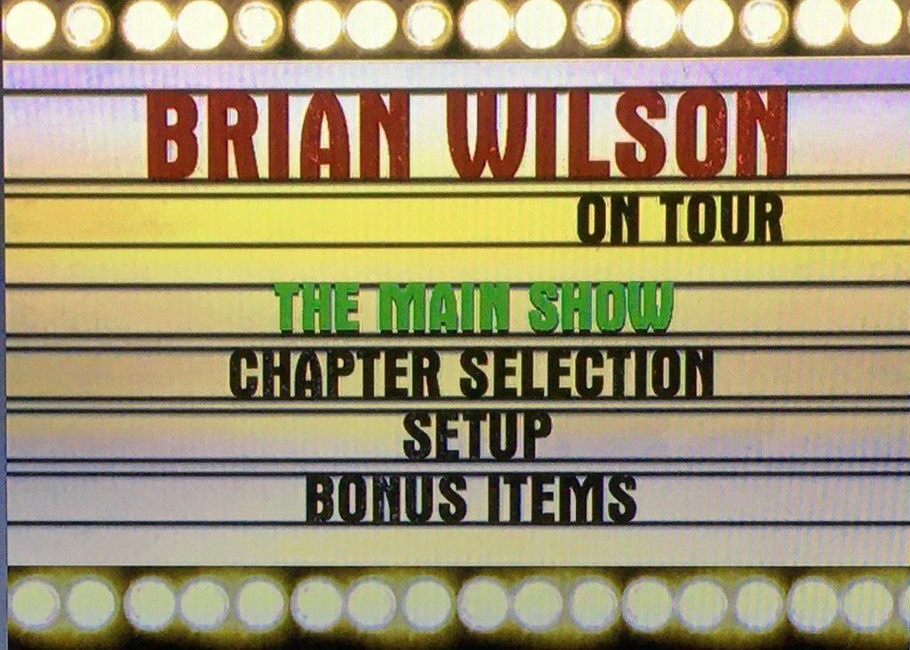 ブライアン・ウィルソン オン・ツアー ライブとドキュメント映像