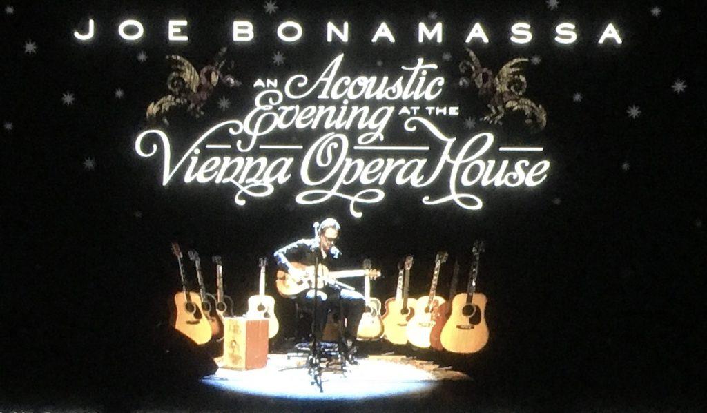 ジョー・ボナマッサアコースティック・ライブ ウイーン・オペラハウス
