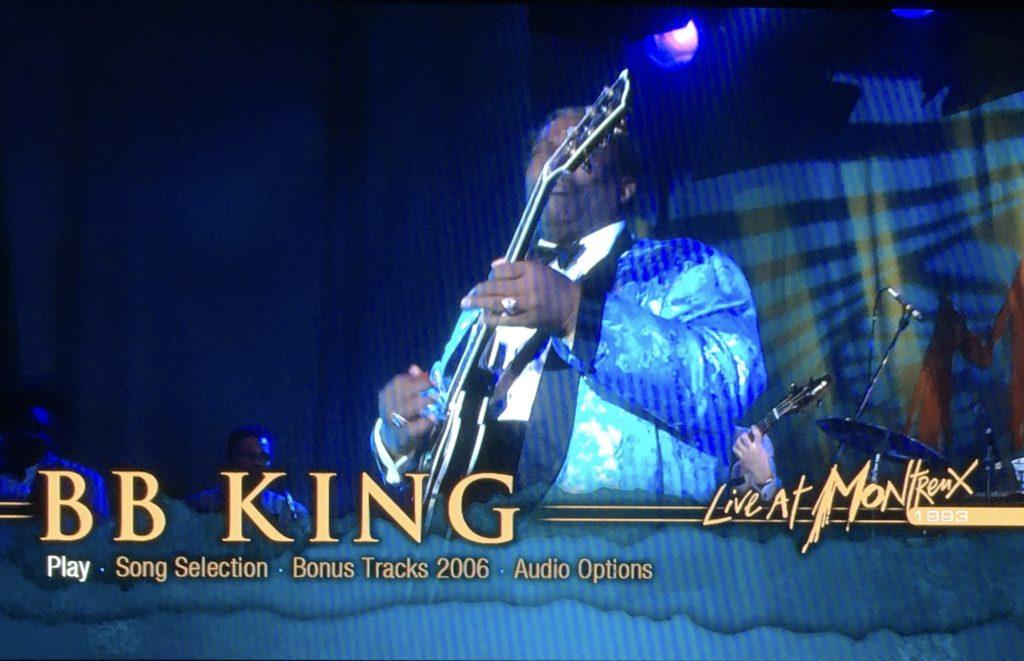 B B キング モントルーライブ 1993年 ボーナス映像収録