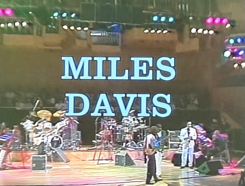 マイルス・デイビス アンド・ヒズ・グループ 復活後の充実のライブ